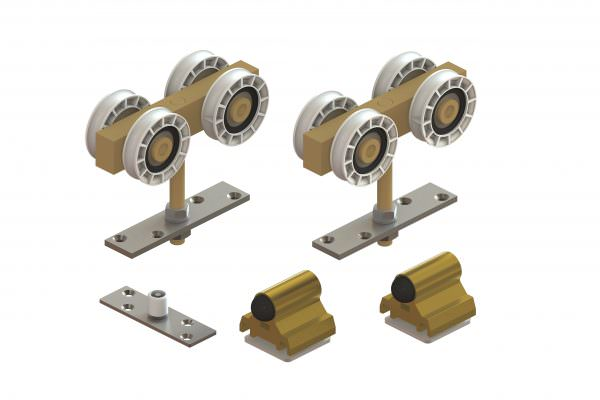 Article No. 04801Hanger fitting pack (timber doors)