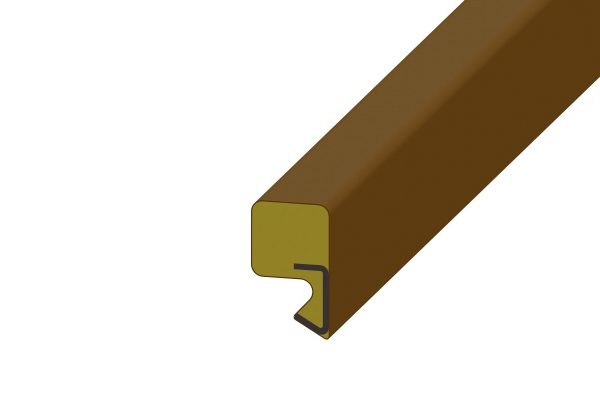 Article No. 07211Door perimeter seal, brown (per door)