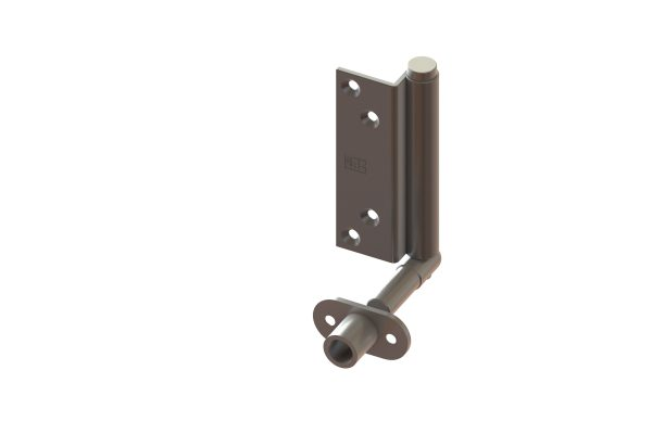 Article No. 09836Intermediate pivot hinge, satin stainless steel
