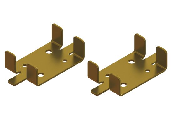 Article No. 61602 Hideaway cavity widening plates, pair (up to 50mm thick doors)
