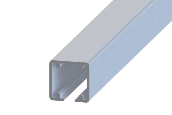 Article No. 48060500 Anodized Aluminium track, 6000mm