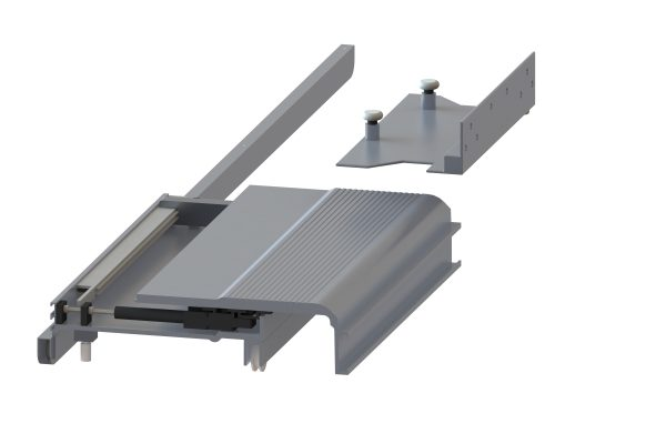 Article No. 83224Flushslide sliding unit, left hand, 55kgs