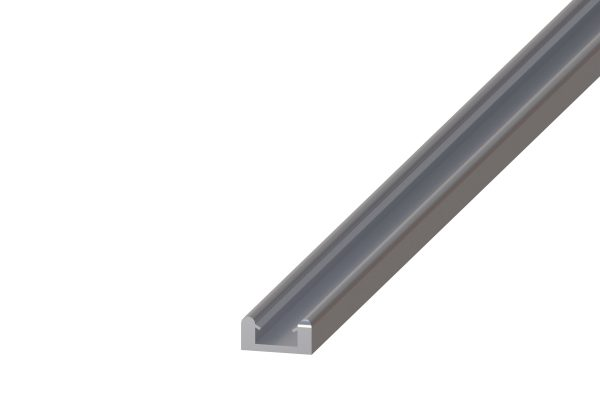 Article No. 84130Eclat 45 top rail, anodized aluminium, 3000mm