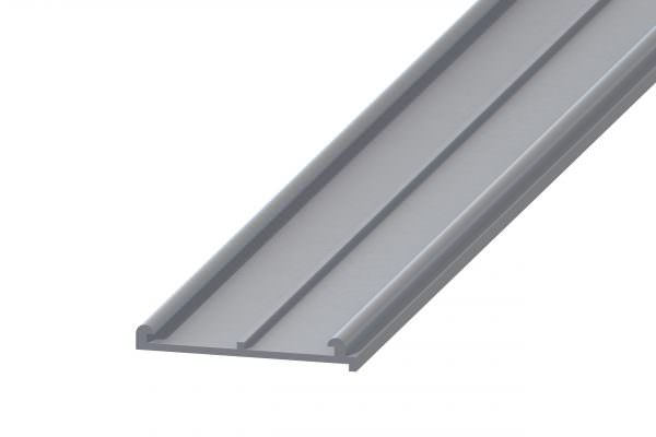 Article No. 85140Eclat 80 top rail, anodized aluminium, 4000mm
