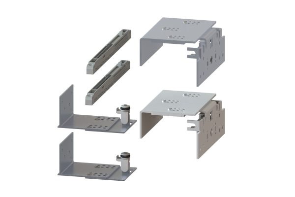 Article No. 85333Eclat 80 fittings pack for 1 outer door c/w soft closing dampers (2 nos.)